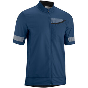 Gonso Lagetto Full-Zip SS Bike Shirt Men insignia blue